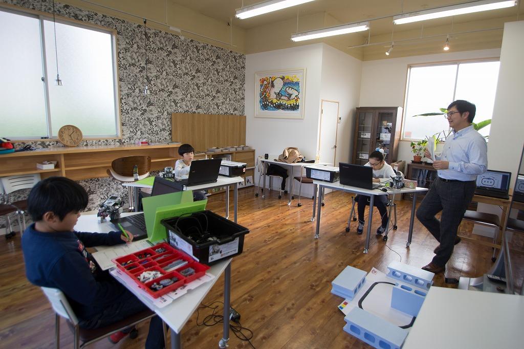 ロボットアカデミー授業風景