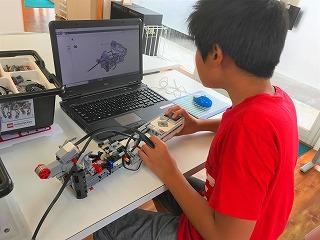 ロボットの組み立て